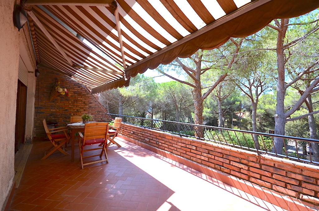 Castiglioncello, large spectacular terrace