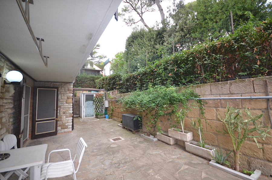 Castiglioncello Tuscany, 200 m from the sea and the centre, independent ground floor apartment